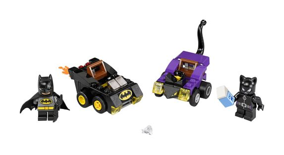LEGO Super Heroes, Mighty Micros Batman Catwoman, 79 pces