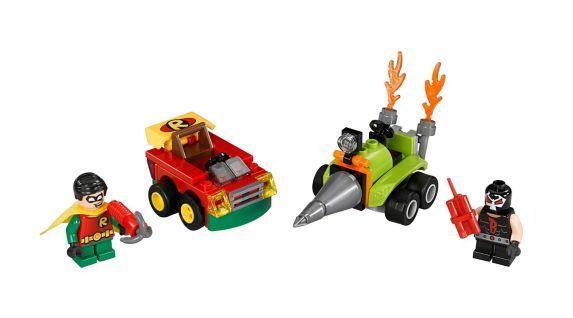 LEGO Super Heroes, Mighty Micros Robin contre Bane, 77 pces