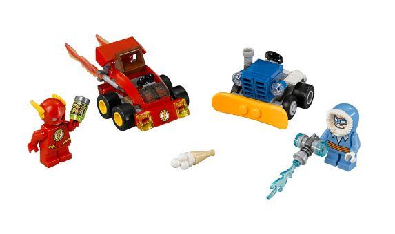 LEGO Super Heroes, Flash Capitaine Cold, 88 pièces Image de l'article