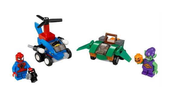 LEGO Super Heroes, Mighty Micros Spider-Man Bouffon, 85 pces