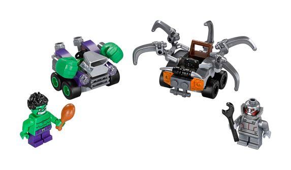 LEGO Super Heroes, Mighty Micros Hulk contre Ultron, 80 pces Image de l'article