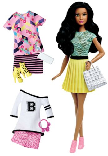 Barbie Fashionista Doll with Bonus Outfits Product image