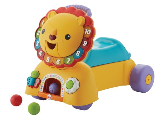3-in-1 Stride & Ride On Lion
