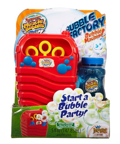 Miracle Bubble Factory Bubble Machine