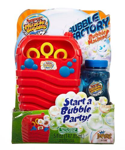 Machine à bulles Miracle Bubble Factory Image de l'article