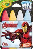 Crayola Outdoor Chalk, Assorted, 4-pk   Crayolanull