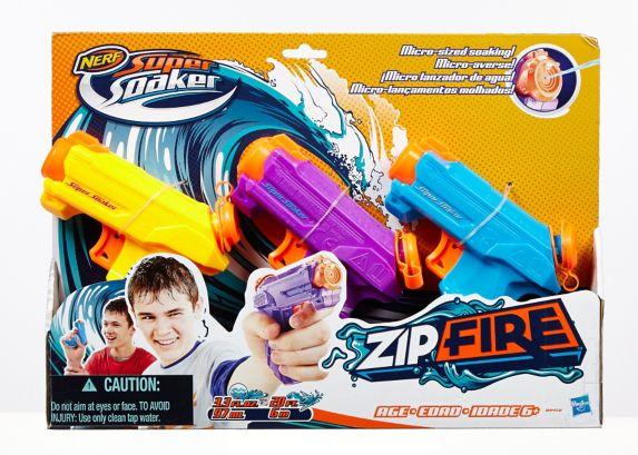 Pistolets à eau Super Soaker Zipfire, paq. 3
