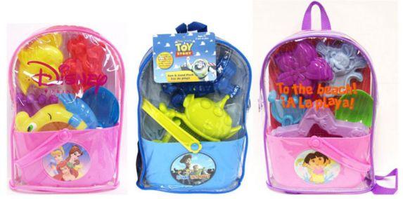 Sac à dos Disney avec jouets de plage Image de l'article