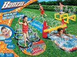 Glissade d'eau et course à obstacles Banzai | Banzainull