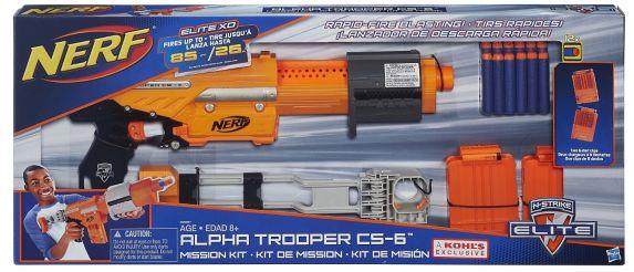 Foudroyeur Nerf Alpha Trooper Mission Image de l'article