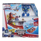 Bateau de sauvetage Transformers High Tide | Playskoolnull