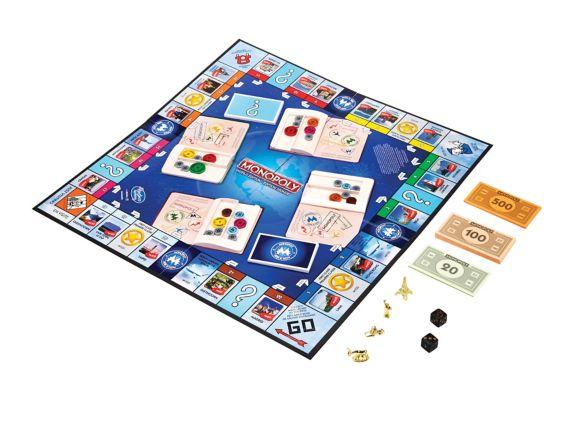 Jeu Hasbro Monopoly Here and Now édition monde Image de l'article