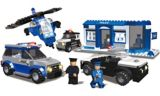 Police Squad Construction Set | Best-Lock Construction Toysnull