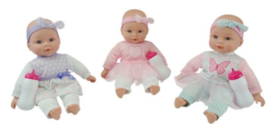 My Cuddly Baby Doll, Assorted, 12-in Product image