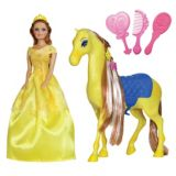 Princess Doll and Horse, 11.5-in