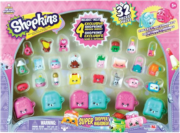 Coffret de jeu Magasineur Shopkins Super Shopper, paq. 32