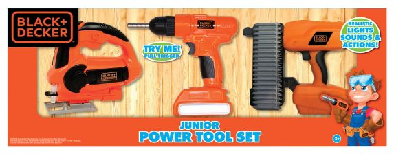 Black & Decker Power Tools, Kid's, 3-pc Product image
