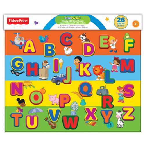 Blocs Fisher Price Chunky Alphabets