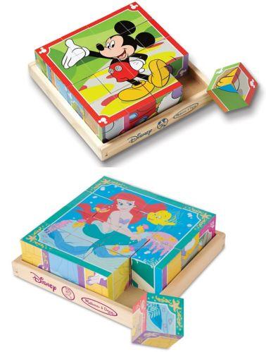 Melissa & Doug Wood Disney Cube Puzzle Product image