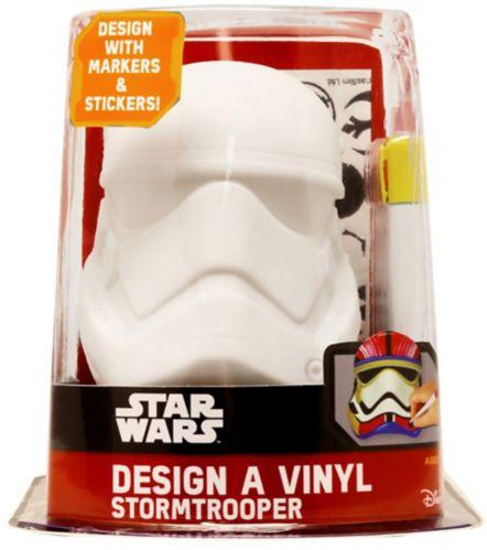 Tête en vinyle Star Wars, Stormtrooper Image de l'article
