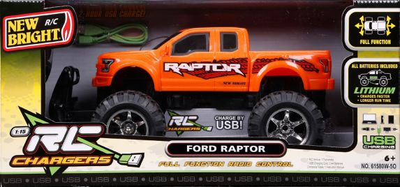 RC Chargers 1:15 Scale Race Truck