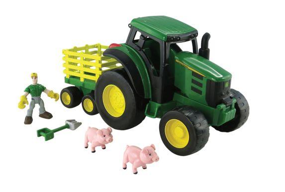 Véhicule de transport lourd John Deere, tracteur Image de l'article
