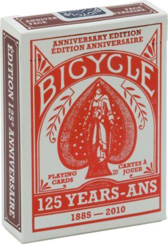 Cartes à jouer Bicycle, 125e anniversaire