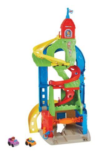 Coffret de jeu Piste Little People Skyway debout et assis Image de l'article