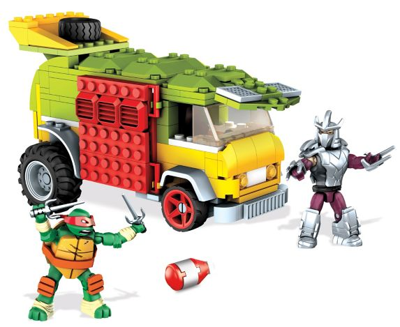 Caravane endiablée Mega Bloks Tortues Ninja Image de l'article