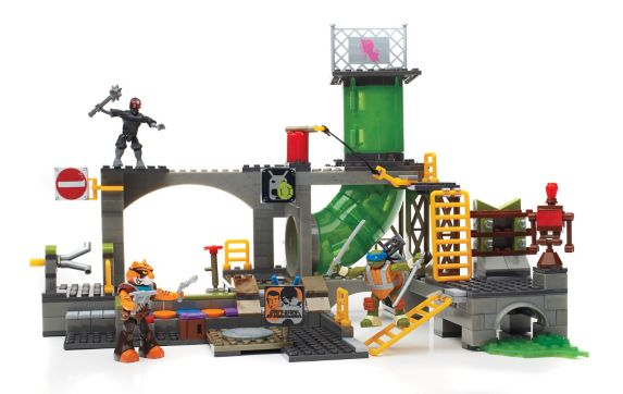 Mega Bloks Teenage Mutant Ninja Turtles, Sewer Lair