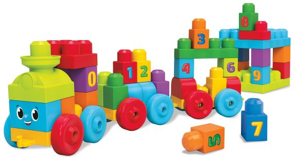 Train Mega Bloks123 Image de l'article