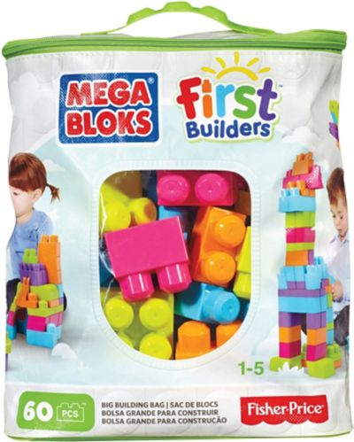 Mega Bloks My First Builders Bag, 60-pc Product image