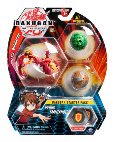 Bakugan Starter Pack, Assorted, 3-pk Product image