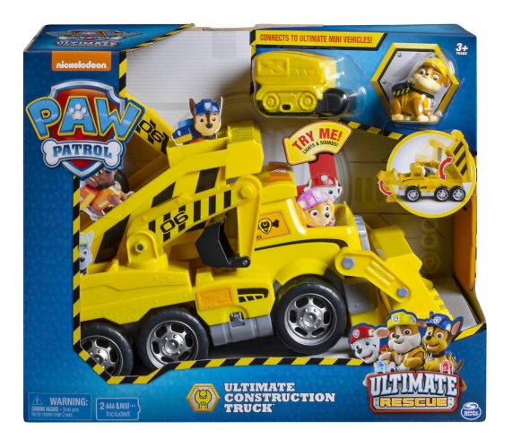 PAW Patrol Ultimate Rescue Construction Truck Product image