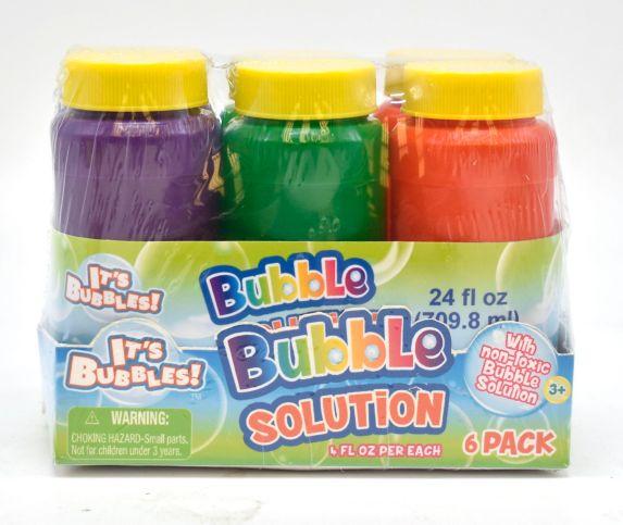 Solution à bulles, paq. 6