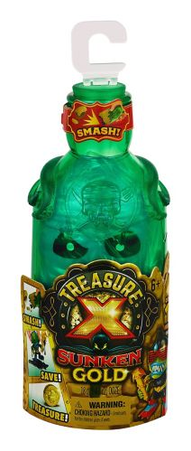 Treasure X Sunken Gold Bottle Smash Single Pack, Assorted