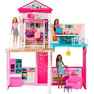 Barbie® Doll & Dollhouse