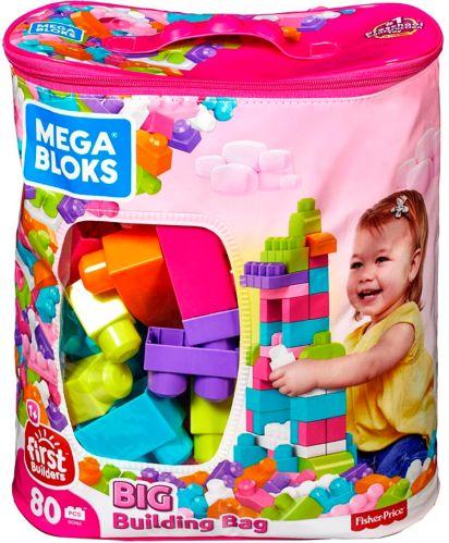 Grand sac de blocs Mega Bloks First Builders, choix variés, paq. 80 Image de l'article