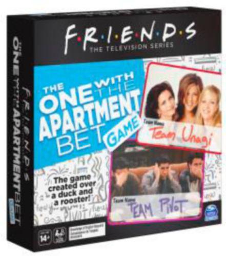 Jeu Friends The One With The Apartment Bet Image de l'article
