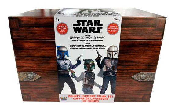 Star Wars The Mandalorian Costume Trunk Set