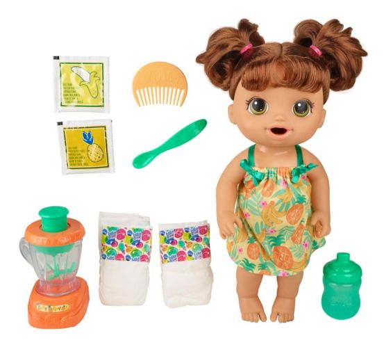 Baby Alive Magical Mixer Baby Doll Tropical Treat with Blender Accessories Product image