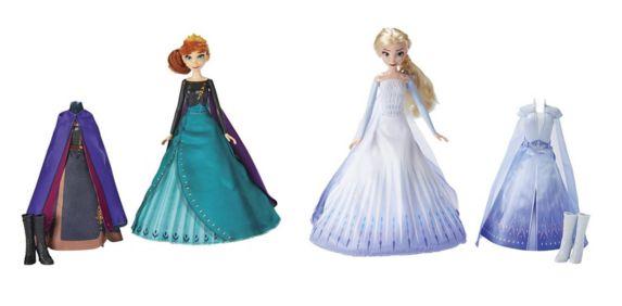 Disney Frozen 2 Transforming Queen Dolls, Assorted
