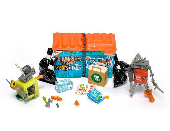 Junk Bots à collectionner HEXBUG, benne à ordures Image de l'article