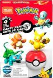 Mega Construx™ Pokémon Kanto Partners, 4-pk | Mega Bloksnull