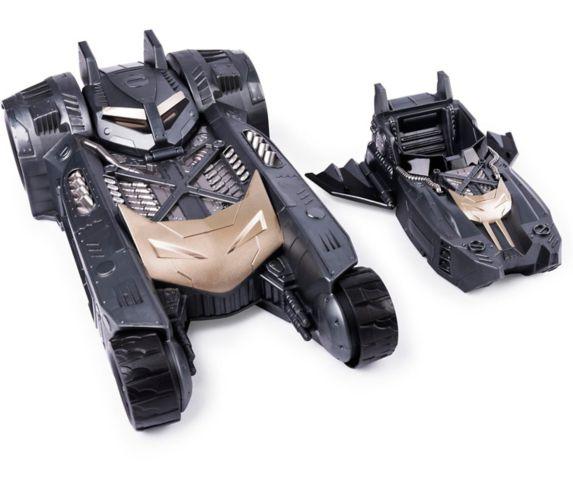 Véhicule 2-en1 transformable Batman Batmobile et Batboat