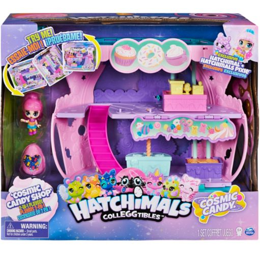 Magasin de bonbons cosmique 2-en-1 Hatchimals Colleggtibles