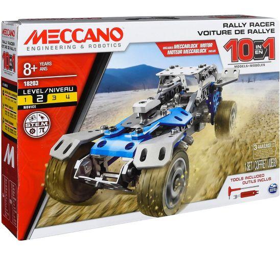 MECCANO 10-in-1 Rally Racer Motorized Building Kit