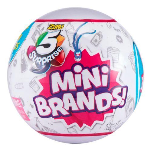 Capsule surprise mystérieuse Mini Brands ZURU, paq. 5 Image de l'article