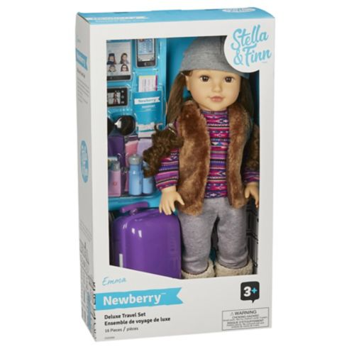 Stella & Finn Newberry Deluxe Doll, Emma, 18-in