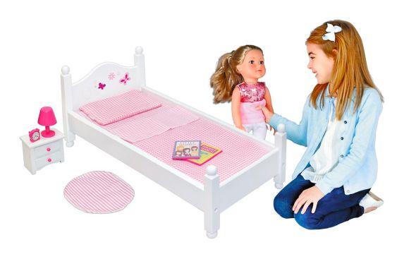 Lit et accessoires pour poupée Image de l'article